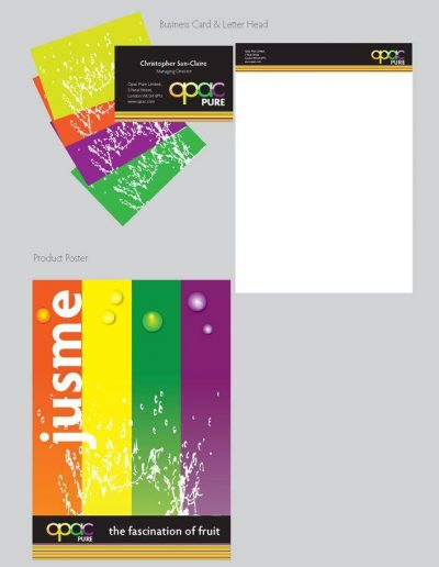 Jusme by OPAC Package Design